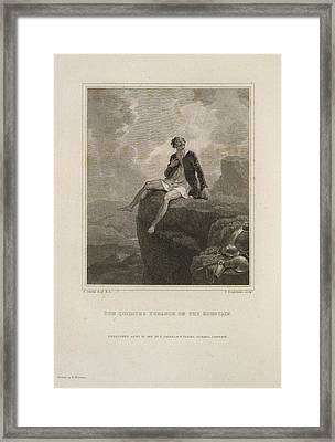 The History Of Don Quixote Framed Print