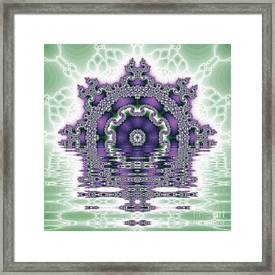 The Kaleidoscope Reflections Framed Print by Odon Czintos
