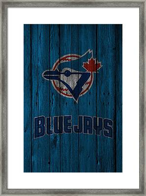 Toronto Blue Jays Framed Print by Joe Hamilton