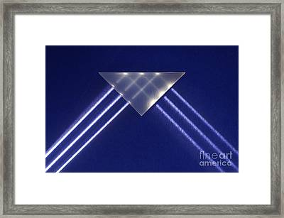 Total Internal Reflection Framed Print by GIPhotoStock