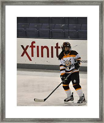 Turkey Hockey Tournment  Framed Print by Megan Zopf