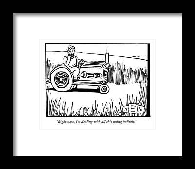 Farmer Framed Prints