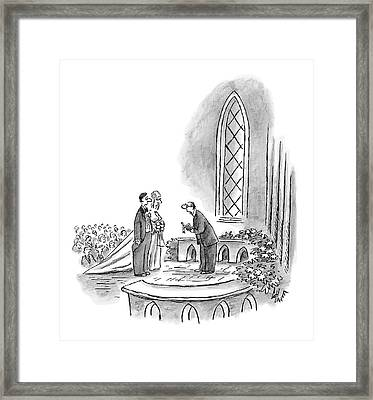 Perhaps If I Phrased The Question Differently Framed Print