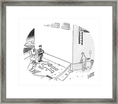 New Yorker December 20th, 2004 Framed Print by Glen Le Lievre