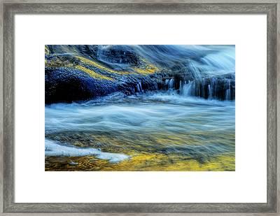 Usa, New York, Adirondack Mountains Framed Print