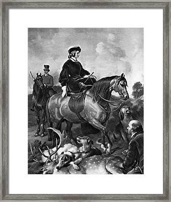Victoria (1819-1901) Framed Print by Granger