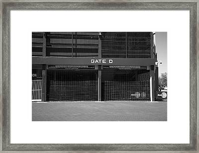 Wrigley Field - Chicago Cubs 20 Framed Print by Frank Romeo