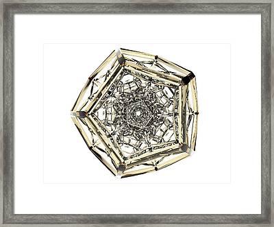 120-cell Hecatonicosachoron Framed Print