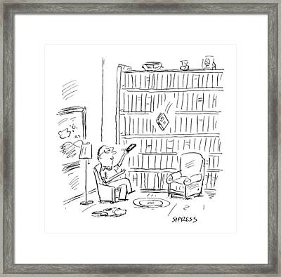 New Yorker July 3rd, 2000 Framed Print by David Sipress