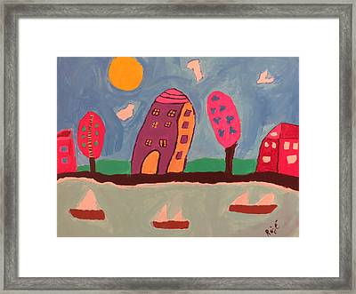 1231 Lakeshore Dr Framed Print by Ronald Weatherford