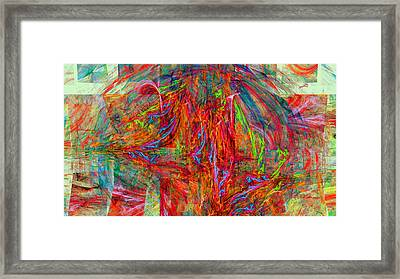 1236 Framed Print by Lar Matre