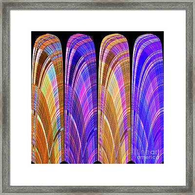 1260 Abstract Thought Framed Print