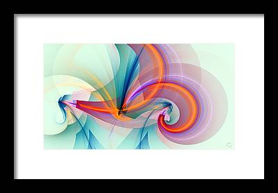 Fractal Framed Prints