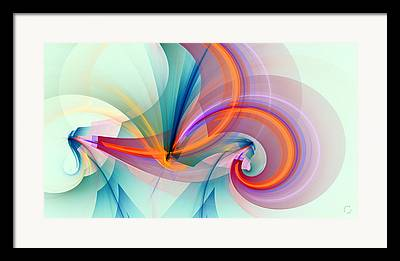 Colorful Art Digital Art Framed Prints