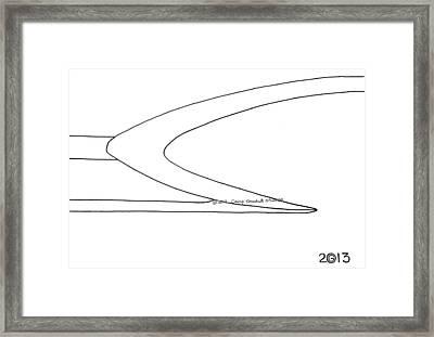 127-ls 'sky 59' Framed Print by Gregory Otvos