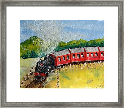1271 Steam Engine Framed Print
