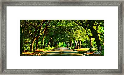 12th Avenue Framed Print