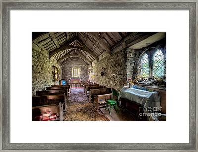 12th Century Chapel Framed Print by Adrian Evans