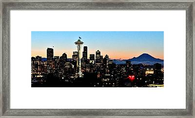 12th Man Sunrise Framed Print