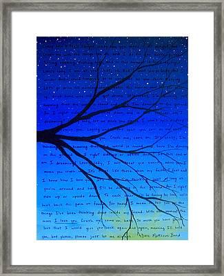 12x16 Lightened Dmb Crush Framed Print