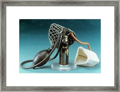 Anaesthetic Inhaler Framed Print