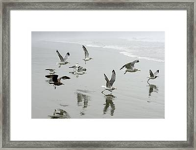 Canada, British Columbia, Vancouver Framed Print by Kevin Oke