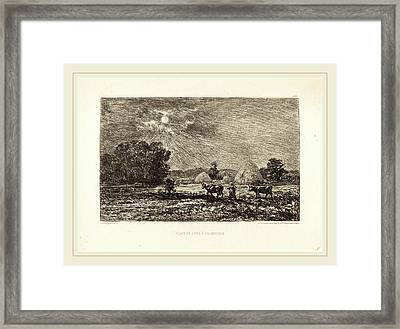 Charles-françois Daubigny French, 1817-1878 Framed Print by Litz Collection