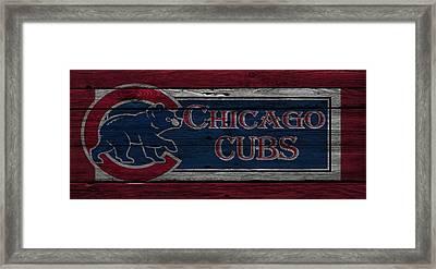 Chicago Cubs Framed Print by Joe Hamilton