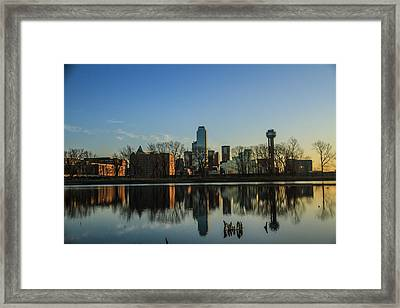 Cityscapes Framed Print by Tinjoe Mbugus