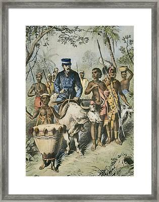 David Livingstone (1813-1873) Framed Print