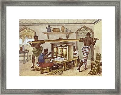 Debret, Jean Baptiste 1768-1848. A Framed Print
