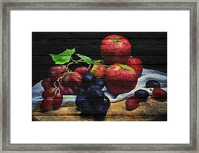 Fruit Framed Print by Joe Hamilton