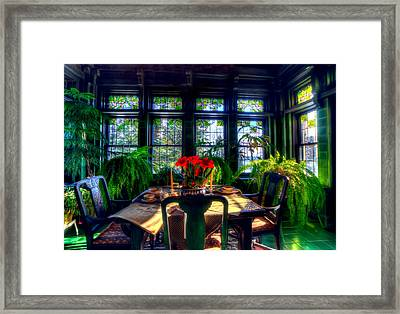 Glensheen Mansion Duluth Framed Print by Amanda Stadther
