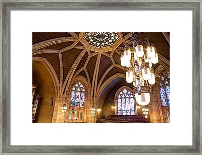 Hennepin Avenue Methodist Church Framed Print by Amanda Stadther