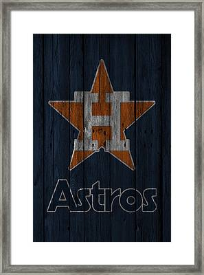 Houston Astros Framed Print by Joe Hamilton