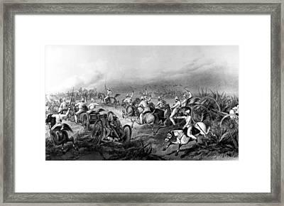 India Sepoy Rebellion, 1857 Framed Print by Granger
