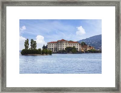 Isola Bella Framed Print by Joana Kruse