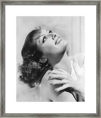 Joan Crawford Framed Print