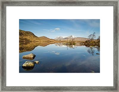 Lochan Na H-achlaise Framed Print by Stephen Taylor