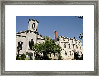 Massachusetts, New Bedford Framed Print by Cindy Miller Hopkins