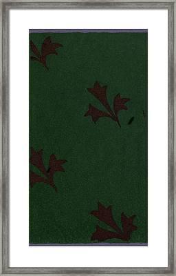 Mediæval Ornament Framed Print by Litz Collection