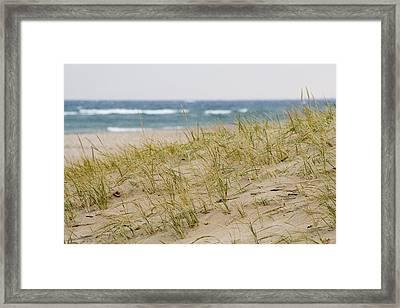 Michigan Beach Framed Print by Gary Marx