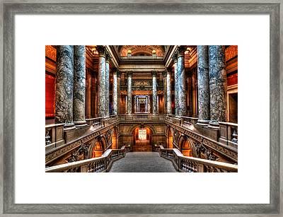 Minnesota State Capitol Framed Print