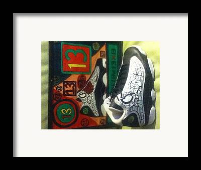 Holiw23d Drawings Framed Prints