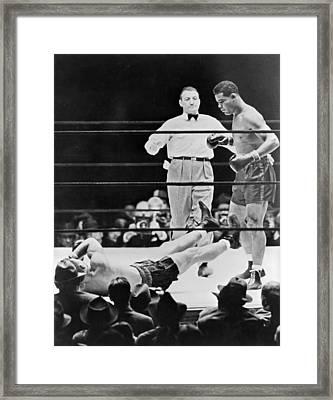 Muhammad Ali (1942-2016) Framed Print by Granger