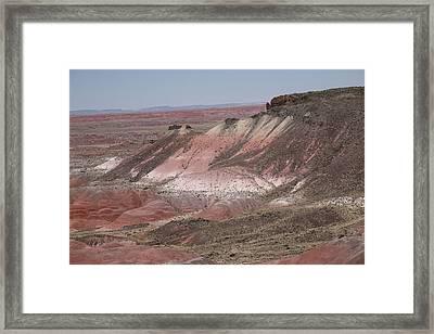 Painted Desert Framed Print by Frank Romeo
