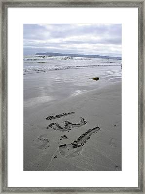 13 Point One Framed Print by Misty Stach