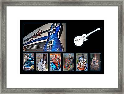 Rock N Roll Collection Framed Print by Deborah Klubertanz