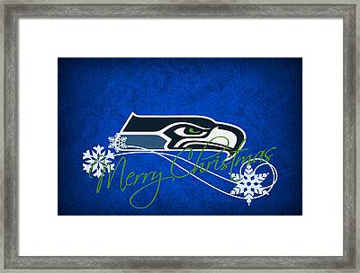 Seattle Seahawks Framed Print