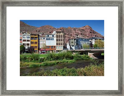 Spain, La Rioja Region, La Rioja Framed Print